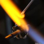 glaskraal maken glasvlinder