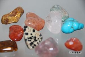 diverse edelstenen
