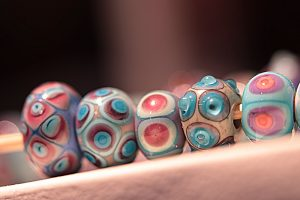Glasvlinder - Art Kralen