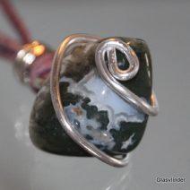 edelstenen glasvlinder