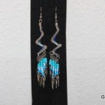 oorbellen glasvlinder