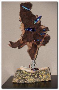 kunst glasvlinder - art