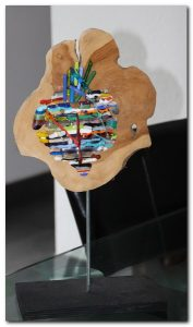 glasvlinder art