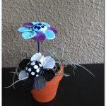 Bloemen van glas maken