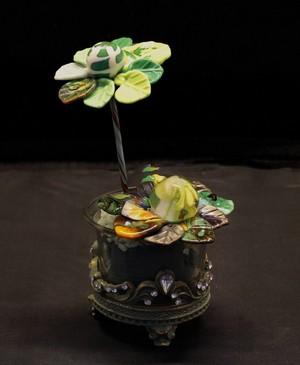 bloemen van glas