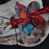 rode glasvlinder