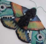 Gekleurde vlinder