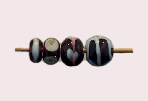 glaskralenmix