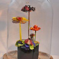 Handgemaakte glasbloemen